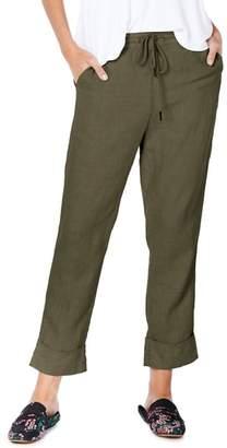 Michael Stars Cuffed Linen Pants
