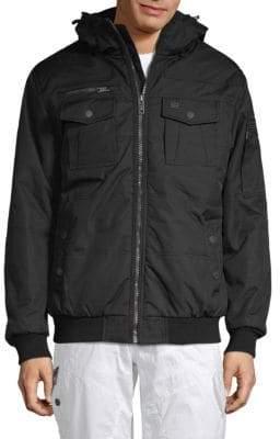 ProjekRaw Classic Hooded Jacket