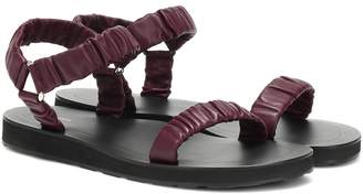 The Row Egon leather sandals