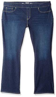 Levi's Women's Plus-Size Totally Shaping Pull On Bootcut Jeans
