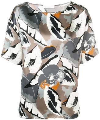 Fabiana Filippi floral short sleeve blouse