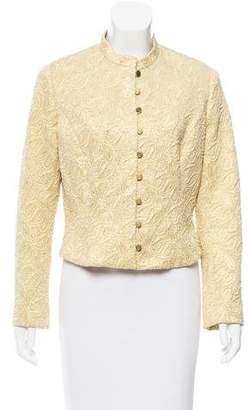 Celine Metallic Matelassé Jacket