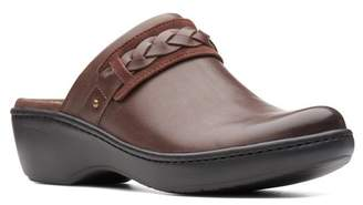 Clarks Delana Abbey Leather Clog - Wide Width Available