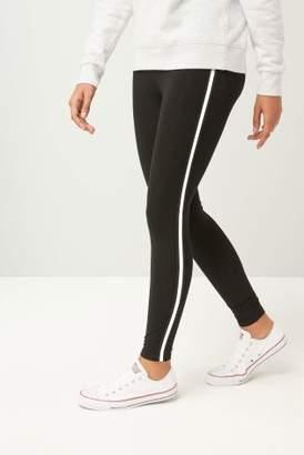 Next Womens Black/White Full Length Leggings