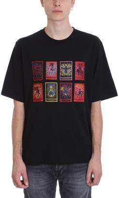 Marcelo Burlon County of Milan Tarot Black Cotton T-shirt