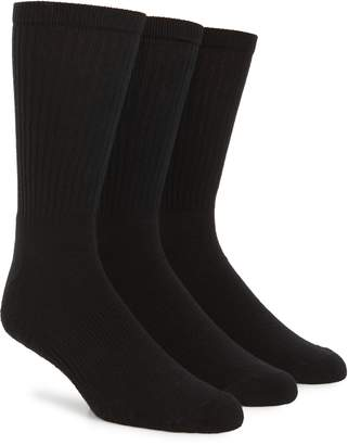 Nordstrom 3-Pack Crew Cut Athletic Socks