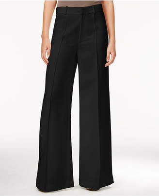 Rachel Rachel Roy Denise Pintucked Wide-Leg Pants, Created for Macy's $109 thestylecure.com