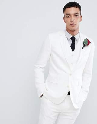 e22355b3998d Devils Advocate Devil s Advocate Wedding Skinny Fit Textured Suit Jacket