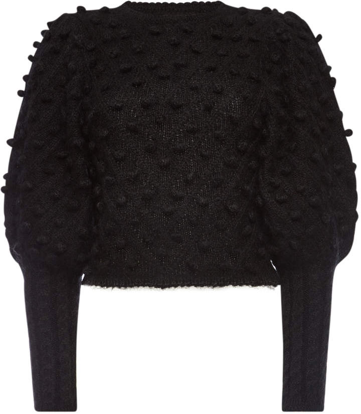 Unbridled Bauble Sweater with Wool and Mohair
