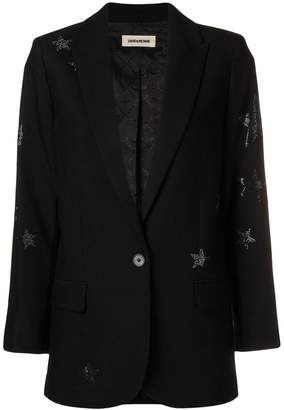 Zadig & Voltaire Zadig&Voltaire embellished blazer