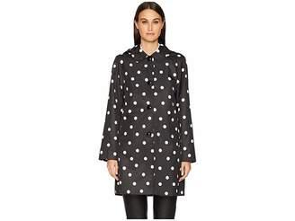 Kate Spade Dot Rain Coat Women's Coat