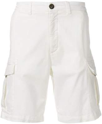 Eleventy slim-fit cargo shorts