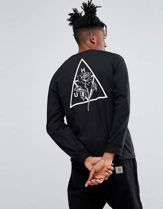 HUF Ambush Long Sleeve T-Shirt With Rose Print