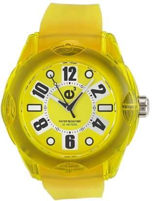 Tendence Women's 2013043 Rainbow Hi-Tech Polycarbonate Yellow Watch
