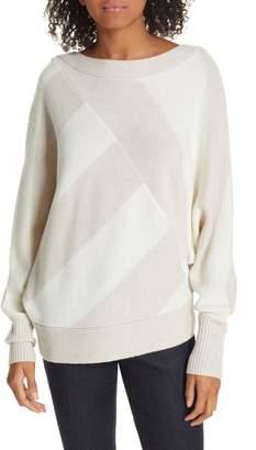Brochu Walker Bixby Bold Stripe Wool & Cashmere Sweater