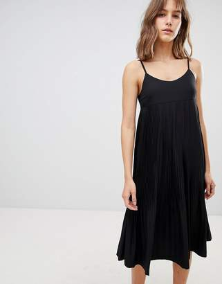 Ichi Cami Strap Midi Dress