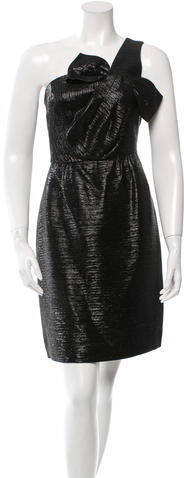 Kate Spade Kate Spade New York Metallic One-Shoulder Dress