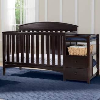 Delta Children Abby 4-in-1 Convertible Crib and Changer Delta Children