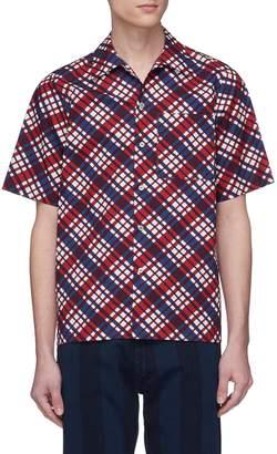 Marni Check short sleeve shirt