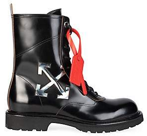 Off-White Men's Working Leather Boots