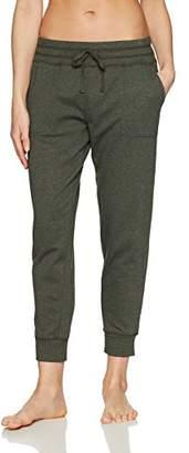 Mae Amazon Brand Women's Loungewear Wide Waist Jogger Pant