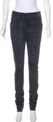Proenza Schouler Mid-Rise Suede Pants w/ Tags