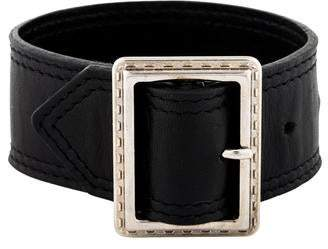 Burberry Leather Wrap Bracelet