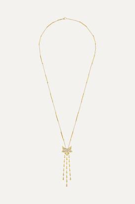 Stephen Webster Dynamite Cascade 18-karat Gold Diamond Necklace