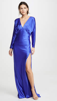 Mason by Michelle Mason Dolman Sleeve Gown