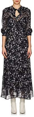 Isabel Marant Women's Maxene Floral Silk Maxi Dress