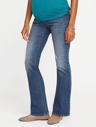 Old Navy Maternity Side-Panel Boot-Cut Jeans
