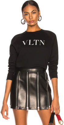 Valentino VLTN Faded Cotton Sweatshirt