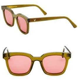Gentle Monster 48MM Finn Retro Square Sunglasses