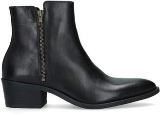 Kurt Geiger London Ross Zip-Up Boots