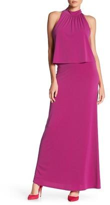 Leota Skylar Layered Maxi Dress $148 thestylecure.com