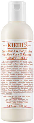 Kiehl's Grapefruit Deluxe Hand & Body Lotion with Aloe Vera & Oatmeal, 8.4 fl. oz.
