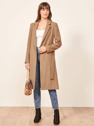 Reformation Barton Coat