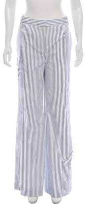 Victoria Beckham Victoria Striped High-Rise Pants w/ Tags