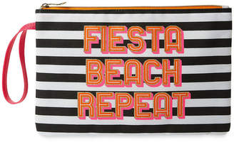 "Tricoastal Design Celebrate Shop Tri-Coastal Design ""FIESTA BEACH REPEAT"" Bikini Bag"