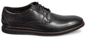Clarks Collection By Raharto Plain Toe Leather Oxfords