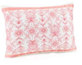 Jessica Simpson Ellie Ribbon Trim Decorative Pillow