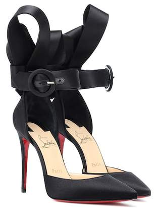 Christian Louboutin Raissa 100 satin pumps
