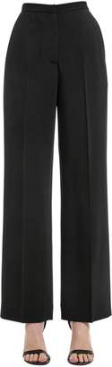 Rosetta Getty Stretch Cady Straight Leg Pants