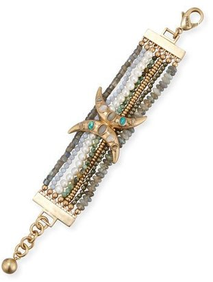 Lulu Frost Andalusia Beaded Statement Bracelet $275 thestylecure.com