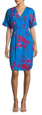 Phase Eight Floral-Print Sheath Dress