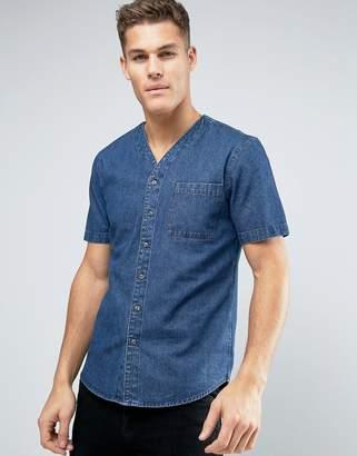 Another Influence Baseball Collar Shirt
