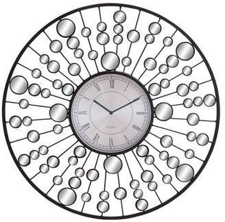 Uma Enterprises Mirror Wall Clock