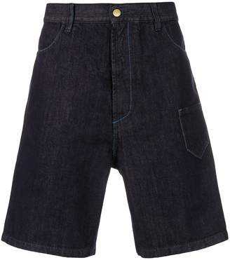 Marni oversized denim shorts