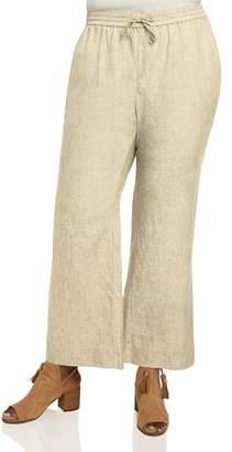 Foxcroft Plus Shore Flared Pants