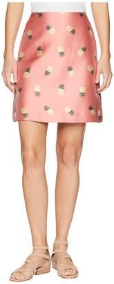 Kate Spade Pineapple Jacquard Skirt Women's Skirt